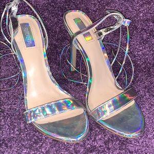 Sexy holographic heels